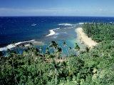 Kee-E Beach, Na-Pali Coast, Kauai, Hawaii