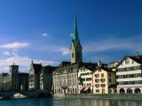 River Limmat, Zurich, Switzerland