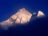 Ama Dablam from Pheriche in Khumbu Valley on Everest Basecamp Trek, Sagarmatha, Nepal