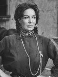 "Mexican Actress Maria Felix on Set New Picture """"Juana Gallo"""""