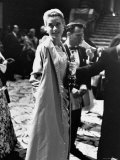 Grace Kelly Holding Her Best Oscar