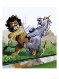 Lion Punching Unicorn