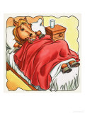 Horse in Bed