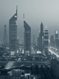 United Arab Emirates, Dubai, Sheik Zayed Road, Emirates Towers