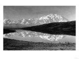 Wonder Lake, Alaska - View of Mount McKinley from the Lake