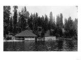 Lake View of Big Springs and Docks - Lake Almanor, CA