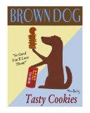 Brown Dog Cookies