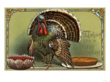 Wishing You a Happy Thanksgiving - Turkey by Punch and Pie