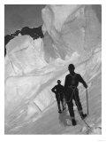Climbing Mt. McKinley Photograph - Alaska