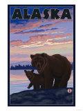Alaska - Bear and Cub