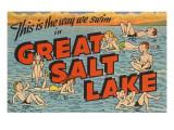 Greetings from Great Salt Lake, Utah