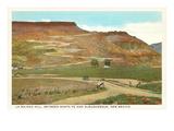 La Bajada Hill near Santa Fe, New Mexico