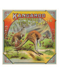 Kangaroo Brand Tobacco Label