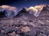 Broad and Gasherbrun Peaks, Karakoram Range, Pakistan