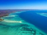 West side of Fraser Island and Great Sandy Straits, Queensland, Australia