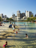 Beach, South Bank Parklands, Brisbane, Queensland, Australia