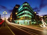 Princes Street and High Street at Dusk, Dunedin, New Zealand