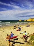 Crowds at the Beach, Torquay, Great Ocean Road, Victoria, Australia