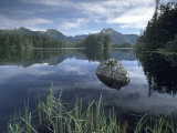 Southeast Alaska Lake, Alaska, USA