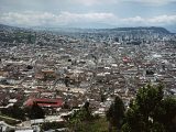 View of Quito from Hillside, Ecuador
