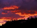 Sunrise, Glacier National Park, Montana, USA
