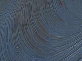 Brush Strokes in Blue Oil Paint