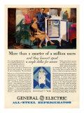 General Electric, Magazine Advertisement, USA, 1920