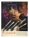 Community Cutlery, Magazine Advertisement, USA, 1950
