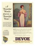 Devoe varnish, Magazine Advertisement, USA, 1920