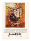 Lloyd Loom, Magazine Advertisement, USA, 1927