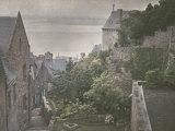 Street in Mont-Saint-Michel, France