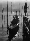 Gondola in the Lagoon, in Venice