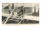 Wilbur Wright at the Controls