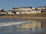 People on the Beach at Portrush, County Antrim, Ulster, Northern Ireland, United Kingdom, Europe