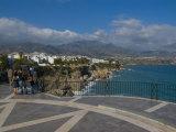 Balcon De Europa, Nerja, Costa Del Sol, Andalucia, Spain, Mediterranean, Europe