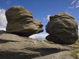 Wain Stones on Bleaklow Moor, Peak District National Park, Derbyshire, England