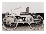 1896 Ford, a Gasoline-Powered Motor Car, Which its Maker, Henry Ford, Called 'Quadricycle