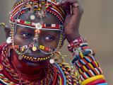 Portrait of a Samburu Maiden