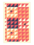 Geometric Op Art Pattern