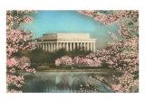 Lincoln Memorial Through Cherry Blossoms