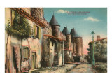 Street in La Cite de Carcassonne