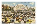 Band Shell, Grant Park, Chicago, Illinois