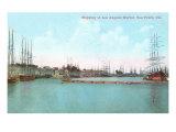Harbor at San Pedro, California