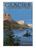 Glacier National Park - St. Mary Lake, c.2009