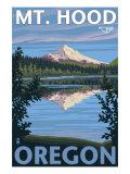Reflection Lake - Mt. Hood, Oregon, c.2009