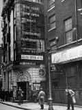 Exterior of the Windmill Theater