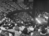 The Audience at the Grand Ole Opry, the Stage on the Right