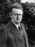 Inventor John L. Baird, Taking a Walk in His Home Garden