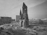 Kaiser-Wilhelm Church Standing Among New Construction