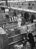 Italo-American Foods in Supermarket